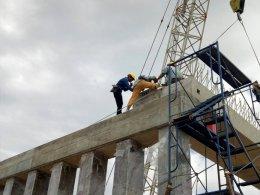 ผลงานงานติดตั้ง Plank Girder ของ บจก.บุรีรัมย์ธงชัย