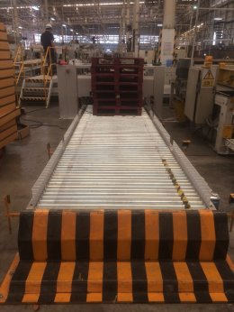 Conveyor for container factory @ Rayong