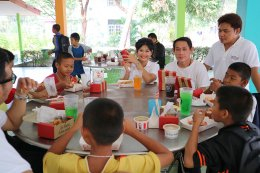 Giving happiness to children