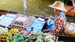 Damnoen Saduak floating market & Ayutthaya