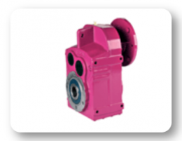 DN Series : Helical geared units with IEC B5/B14 motor flange