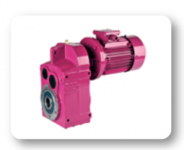 DV Series : Helical geared motors with IEC B5/B14 motor flange
