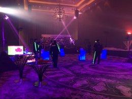 Par led Blacklight UV 3w54