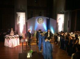 ไฟ เครื่องเสียง bubble dryice งานแต่งงาน Le Méridien