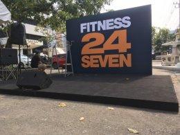 งานfitness 24 seven ถนนพระราม 9