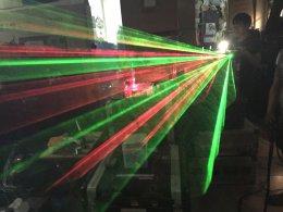 ไฟ laser