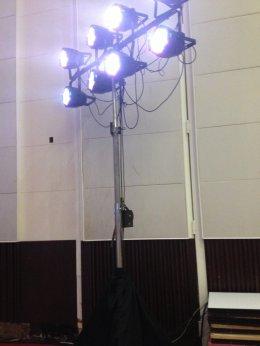 ไฟ Par LED 3w 36/54 RGB