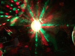 ไฟ Magic ball disco