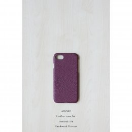 Leather case for Iphone 7/8 (Dark Maroon)