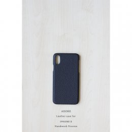 Leather case for Iphone X (Midnight Black)