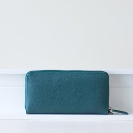 MeLLow - Round Zip Wallet - VALENT GREEN
