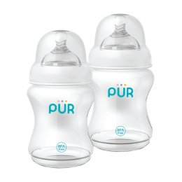 Comfort Feeder Wide Neck Bottle 8 oz./250 ml.-2pk