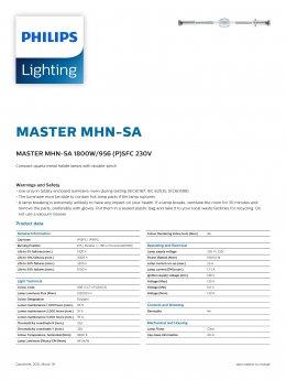 MASTER MHN-SA