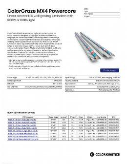 ColorGraze MX4 Powercore