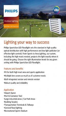 SportStar LED Floodlight