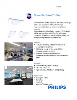 GreenPerform Troffer