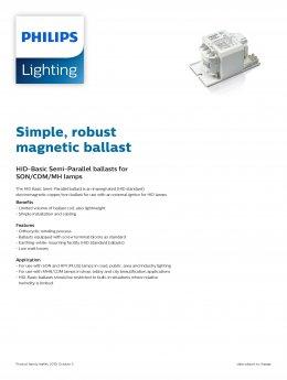 Philips Magnetic Ballast