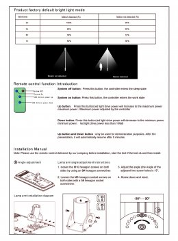 SmartBright Solar All-in-one Streetlight BRP110