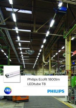 Ecofit 1800lm LEDtube T8