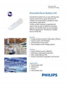 Green Perform Batten G3