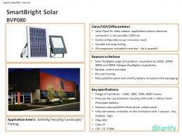 SmartBright Solar BVP080