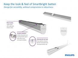 Essential SmartBright T8 integrated batten BN016C