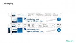 SmartBright Luxline T5 Integrated LED Batten BN098C G2