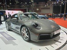 ปอร์เช่ 911 คาร์เรร่า เอส ใหม่ ปรากฎโฉมพร้อมสะกดทุกสายตาที่งาน Big Motor Sale 2019