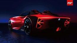 """เอ็มจี เปิดตัวรถต้นแบบแห่งโลกอนาคต  """"MG Cyberster"""" ในงาน Shanghai Auto Show 2021"""