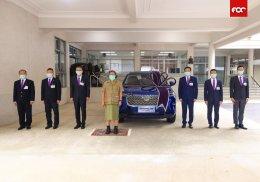 เกรท วอลล์ มอเตอร์ น้อมเกล้า ฯ ถวายรถยนต์ All New HAVAL H6 Hybrid SUV  คันแรกจากสายการผลิตในประเทศไทย แด่สมเด็จพระกนิษฐาธิราชเจ้า กรมสมเด็จพระเทพรัตนราชสุดา ฯ สยามบรมราชกุมารี