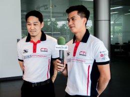 นักแข่งไทยประกาศความพร้อมก่อนลงการแข่งขันกีฬาความเร็วระดับโลก