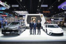 ลัมโบร์กินีอวดโฉมซูเปอร์สปอร์ตคาร์ระดับโลกในงาน Motor Expo 2018
