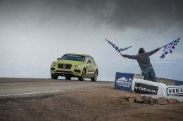 BENTAYGA สุดยอดยนตกรรม SUV ผู้จารึกสถิติการแข่งขัน PIKES PEAK