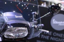 Vespa Notte Special Edition สกู๊ตเตอร์พรีเมี่ยมรุ่นพิเศษ  ที่พร้อมเปลี่ยนประสบการณ์การขับขี่ในเมืองยามค่ำคืนให้โดดเด่นกว่าใคร กับสีดำด้านรอบคัน แฝงความเท่สไตล์โมเดิร์นคลาสสิก