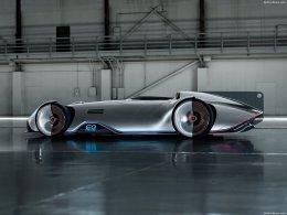 ล้ำจินตนาการ  เหนืออนาคต   Mercedes-Benz Vision EQ Silver Arrow Concept 2018