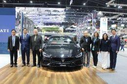 มาเซราติ ร่วมงาน Motor Expo 2018 ชูไฮไลท์ Ghibli S GranSport 430 แรงม้า
