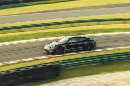 ปอร์เช่ ไทคานน์ (Porsche Taycan) ปรากฏโฉมที่เซี่ยงไฮ้ ประเทศจีน