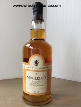 Macleod's Highland Single Malt 70cl