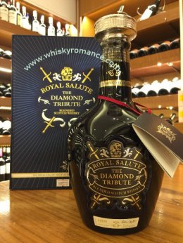 Royal Salute 21 Year Old  The Diamond Tribute