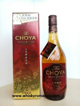 The Choya Aged 3 Years 72cl