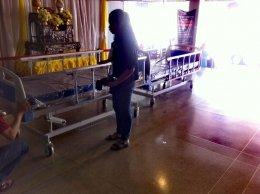 กราบขอบพระคุณกับการบริจาคเตียงผู้ป่วย 3 ไกร์มือหมุนให้กับทางโรงพยาบาลสวรรค์ประชารักษ์