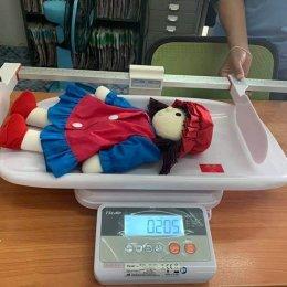 ส่งมอบเครื่องชั่งน้ำหนักเด็กชนิดนอนแบบดิจิตอล ยิงตรงถึงที่ ลูกค้าจังหวัดเพชรบูรณ์
