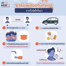 5 วิธีช่วยป้องกันตัวเองจากโควิด-19