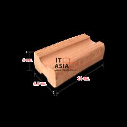 อิฐมอญ มอก.77-2545 ขนาด 4x6.5x14 ซม. หน้างาน อ.มวกเหล็ก จ.สระบุรี