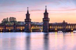 Oberbaum bridge and river