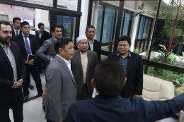 นาย อาณัติ สาดีน ประธานฯ ได้ร่วมประชุมผลักดันฮาลาลไทย สู่ฮาลาลโลก
