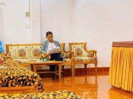 นายอาณัติ สาดีน ประธานฯ ได้รับเกียติให้เป็นวิทยากรบรรยายในงาน ประชุมสัมมนาสมาชิกพรรคประชาธิปัตย์