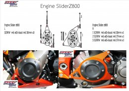 Engine slider
