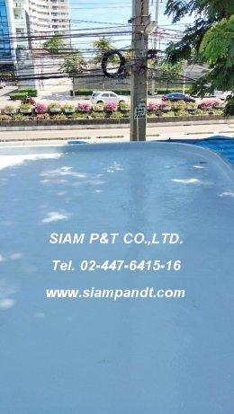ระบบกันซึมชนิดแผ่น PVC EVALON SHEET WATERPROOFING MEMBRANE