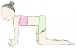 แก้้อาการปวดหลังและไหล่ ด้วยท่าโยคะแบบง่ายๆ